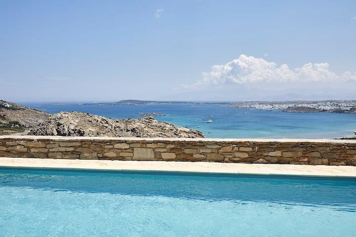 Indigo 4 Bedroom Villa Sea View Private Pool