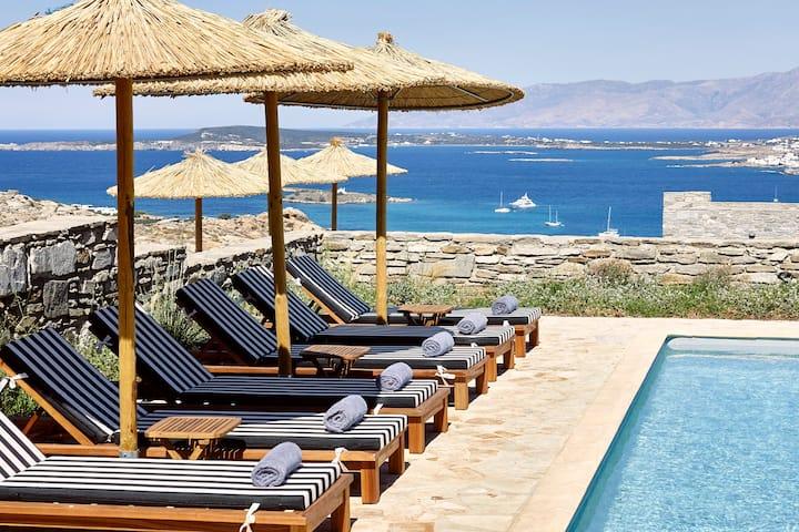Azure 5 Bedroom Villa Sea View Private Pool
