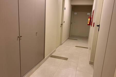 No hay escaleras para ingresar al departamento