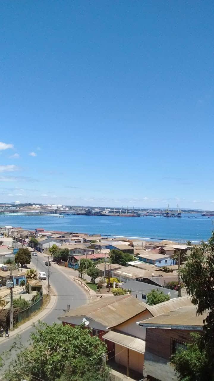 Arriendo de casa con hermosa vista a Bahia ventana