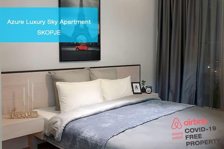 Azure Luxury Sky Apartment bedroom 11,66 sq m