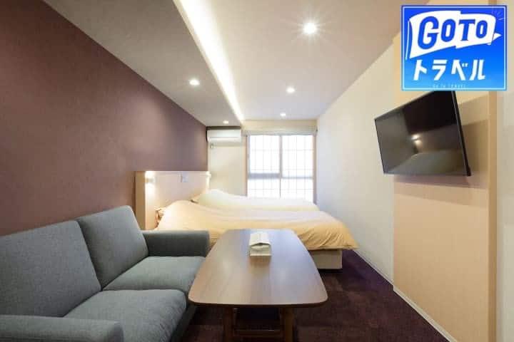 HIZ HOTEL Kyoto★ 204 ★Kyoto Gyoen nearby Max 5P