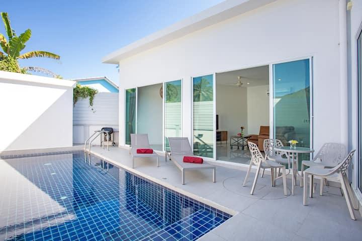 热门新精品泳池别墅⇉设计感家具⇇拉威