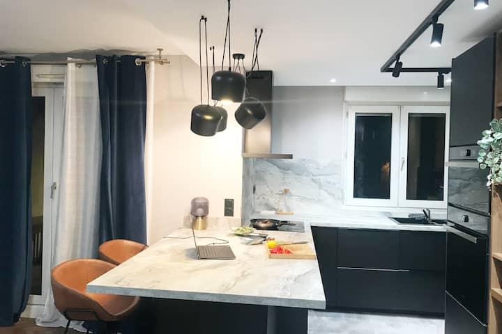 Appartement confortable - Grenoble avec garage