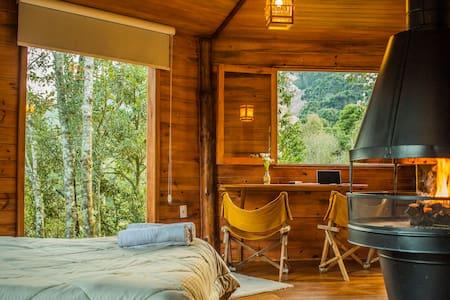 Cabana de Montanha - Desfrute Natureza e Orgânicos