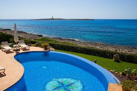 Dependance CASA MILOS B&B con piscina sul mare