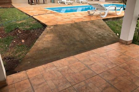Rampa para acesso a piscina