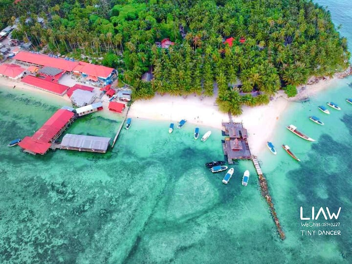 Mabul Noble SCUBA Resort[including three meals]