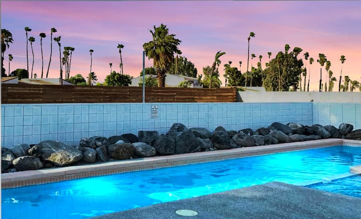 The Perfect Hideaway in the Heart of Palm Springs