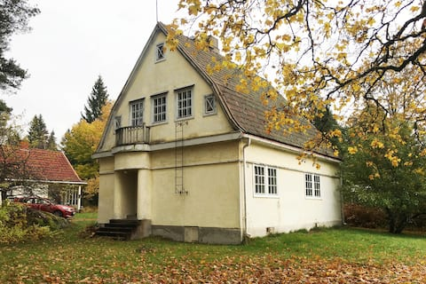 * Charming jugend villa + sauna 10 km from Fiskars