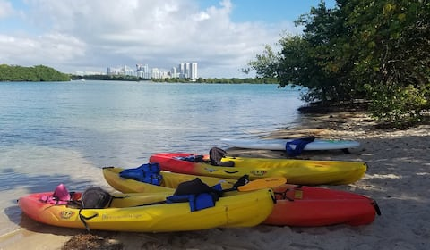 Coastal North Miami Beach bedrm w/on suite & pool