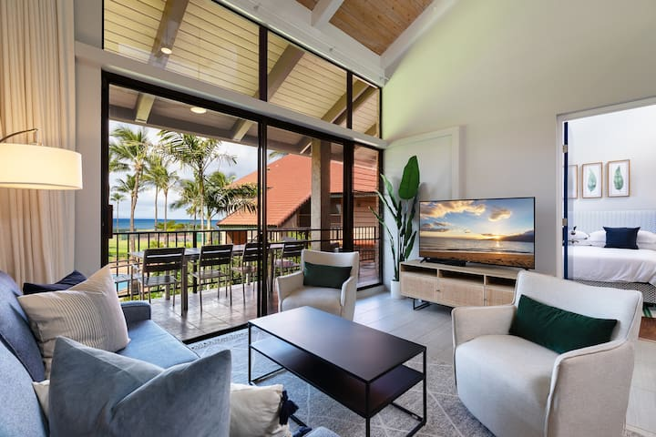 NEW! Large Modern 3 Bed / 3 Bath Oceanfront Condo