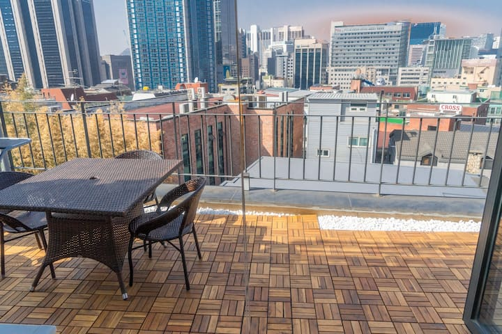 Two floor BBQ Private Terrace 🎞️K-Drama Filming