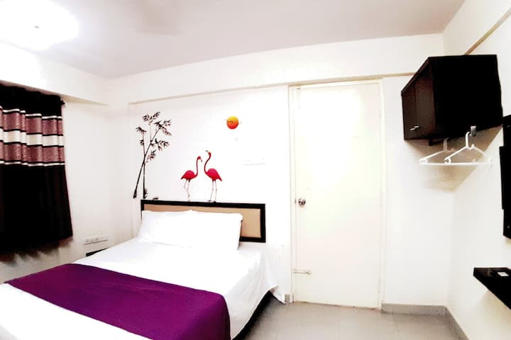 Studio Rooms with Amenities-Wifi-Balcony-Bangalore
