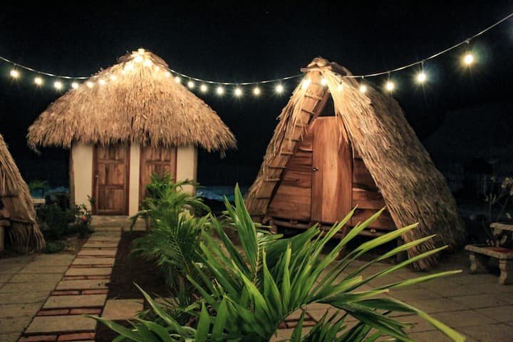Tipi tent #1 - Aloha bungalows surf lodge