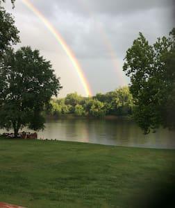 Blacksburg home on  New River