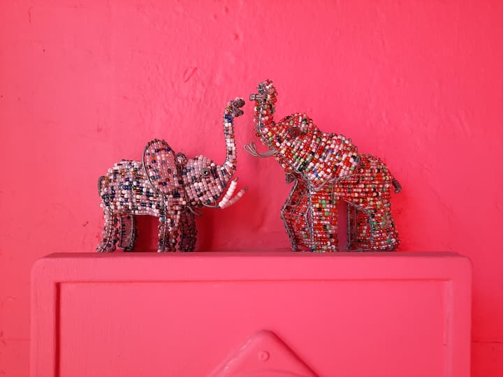 The Pink Elephant | Self Catering Studio Flat