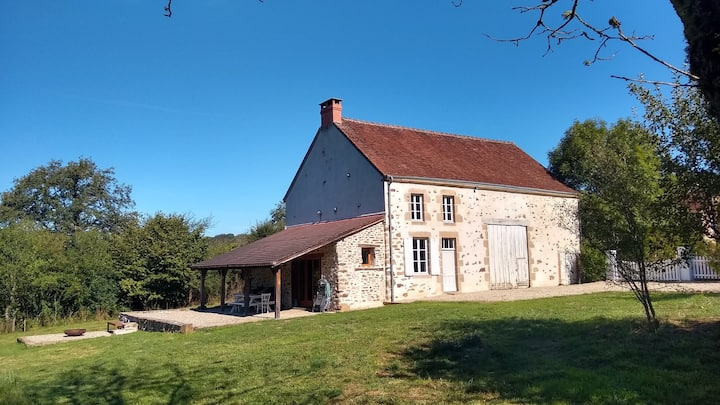 17th Century house on Petite Creuse River