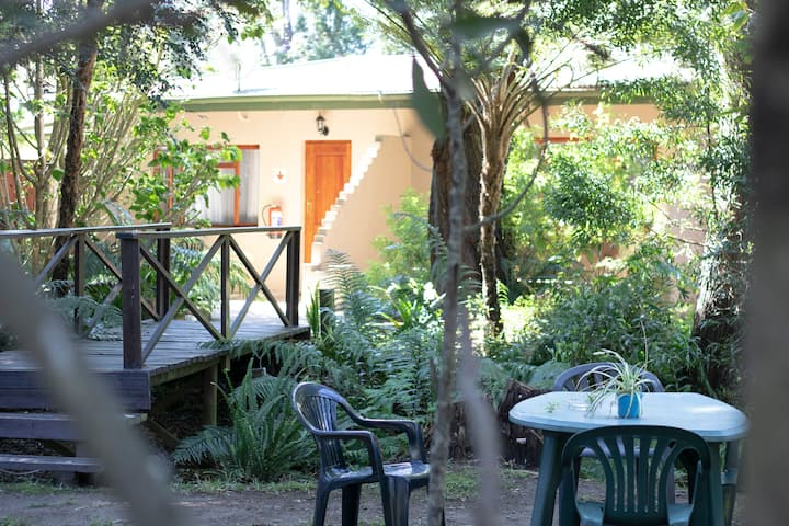 Spacious Double Room, Private Patio, Garden View