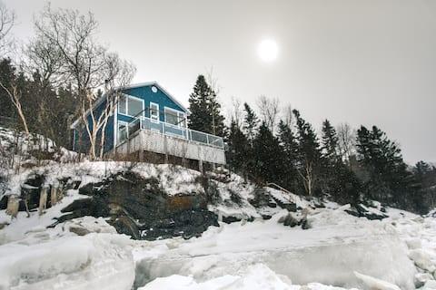 Chalet casa vista mar río Trois-Pistoles