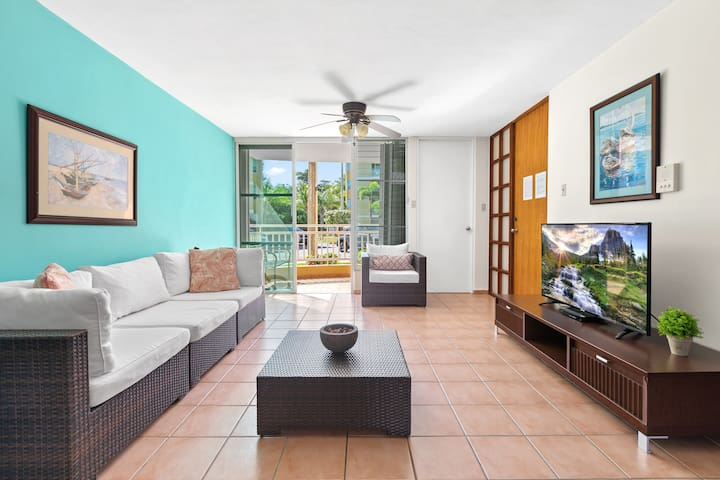 Breezy garden apartment @Villas del Mar, Loiza