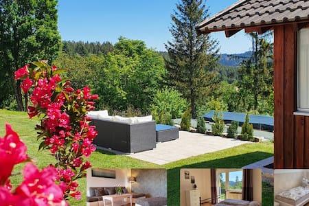 Fewo Frankenwaldblick 110m² mit eigenem Garten