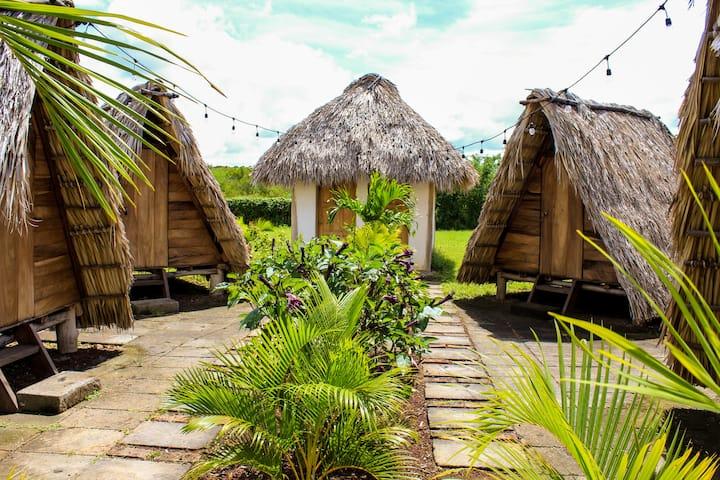 Tipi tent #2 - Aloha bungalows surf lodge