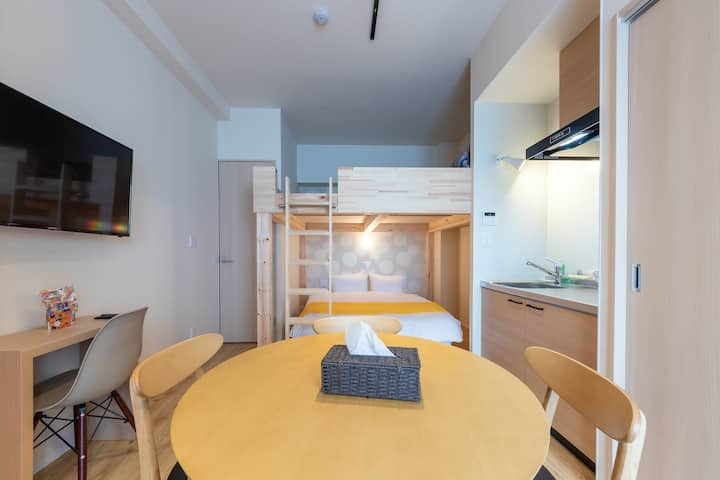 Newly built, VACATION INN KAMATA I, studio A