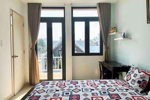 Misa's room12 with balcony-LeDucTho street-GoVap