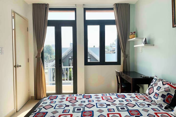 Misa's room12 with balcony-LeDucTho street-GoVap