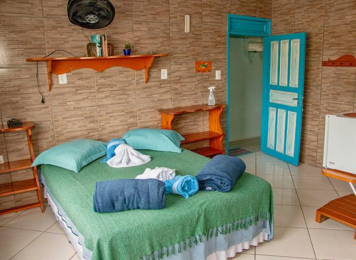 Suite com vista para o mar a 10 metros da praia