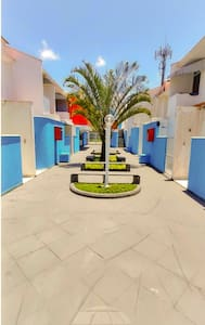 Pátio de entrada