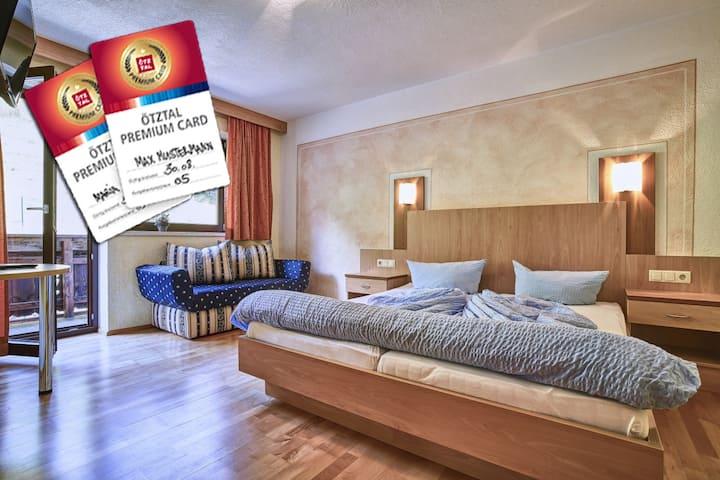 App A - cosy flat for 4-6 ppl incl wifi & sauna