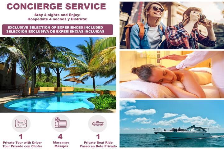 Box Cay Lujosa Villa - Servicio de Concierge