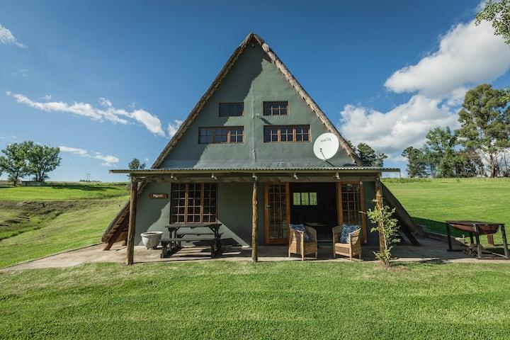 Penwarn Farm Lodge - Nguni Cottage