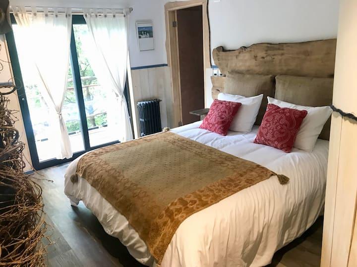 Casa Gioia, habitación doble con baño privado