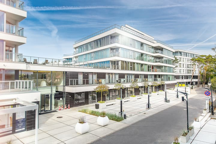 Apartament dwupokojowy - Dune FAF Mielno