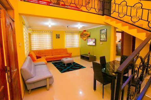 Nouvel appartement / Meublé / Centre-ville /Wifi rapide
