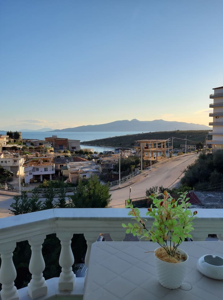 Apartment  Sea View.Relax Apts Saranda 108