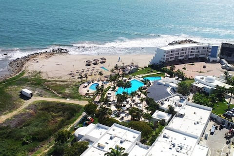 Lujoso Penthouse Frente Al Mar/ Playas/ Ocean Club