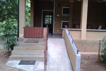 Main entrance to ground floor of building