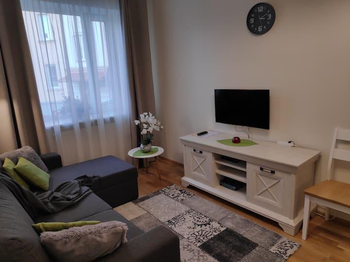 Peatu Majaka väikeses ja mugavas apartmendis.