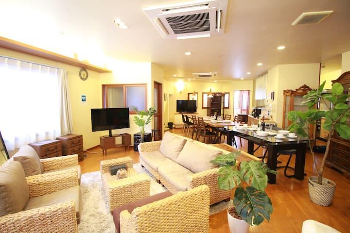 6 LDK'S Premium House . 1 minute  station.
