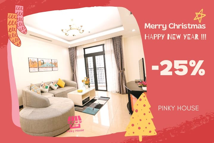 Pinky House-R5B Luxury Apt*HotTub at Royal city*