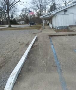 Lugar de estacionamento para deficientes