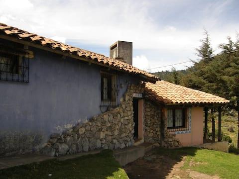 Casa de camp en los Cuchumatanes, Huehuetenango