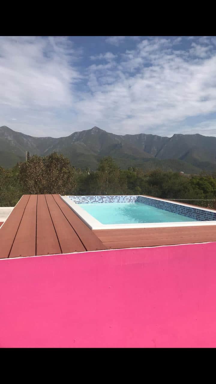 Terraza con excelente vista al cañón del huajuco