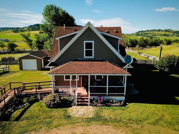 Spearfish BNB all four guest rooms/private baths
