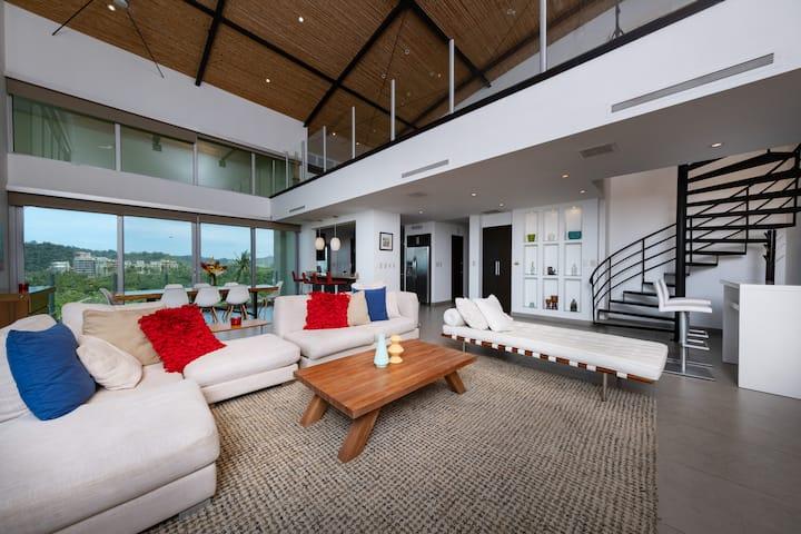 Exclusive 4 bedroom Penthouse 801N