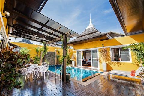 Tropical Dream Exclusive 2·BDRM Private Pool Villa